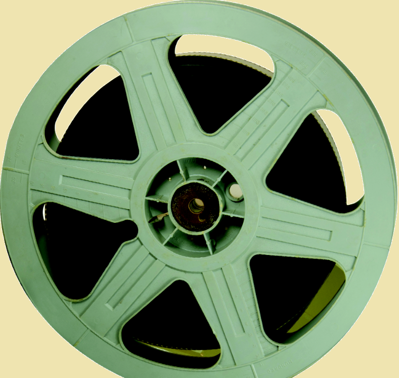 Green Film Reel